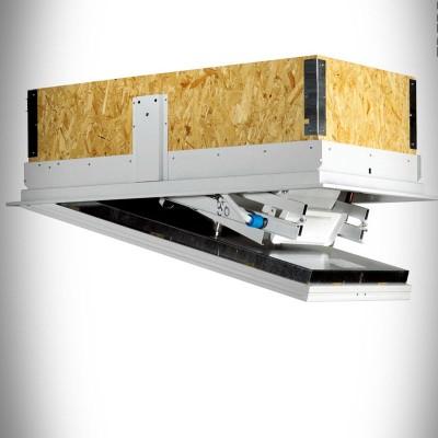 чердачная лестница ,  для утепленных потолков.