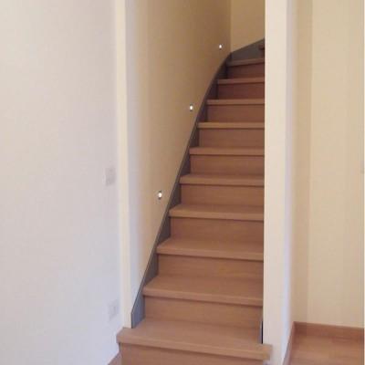 лестница с подступёнками