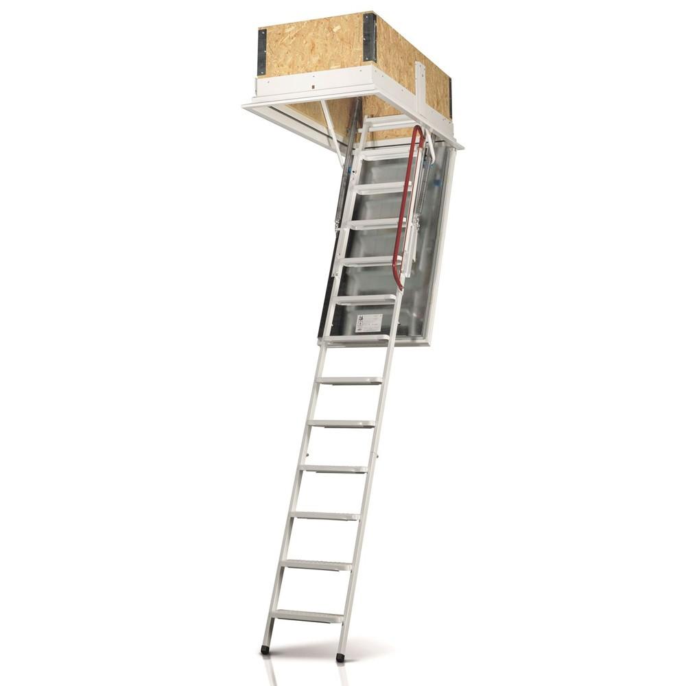 Isotec - утеплённая чердачная лестница .