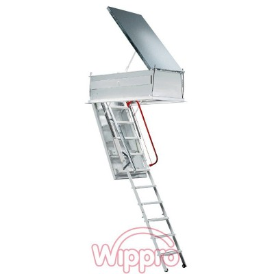 Утеплённая электрическая лестница WIPPRO
