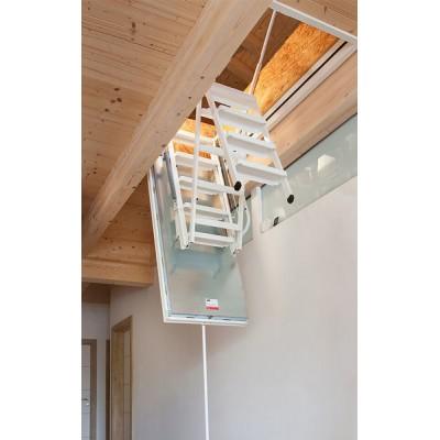 чердачная утеплённая лестница isotec wippro