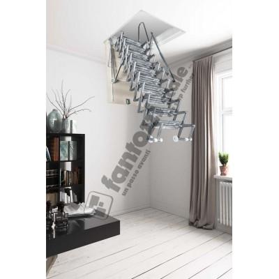складная алюминиевая лестница на чердак Aci Alluminio  Италия