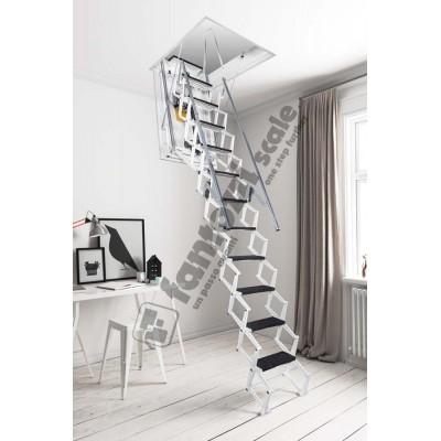 автоматическая лестница Aci Alluminio Motorizzata