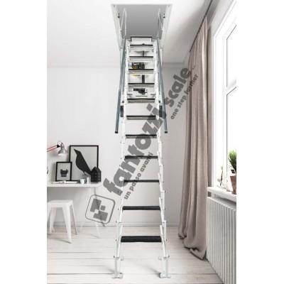 автоматизированная лестница Aci Alluminio Motorizzata
