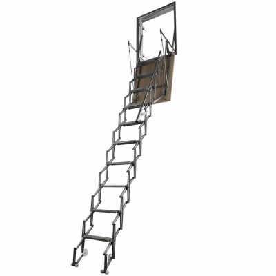 алюминиевая складная лестница Aci Alluminio Verticale