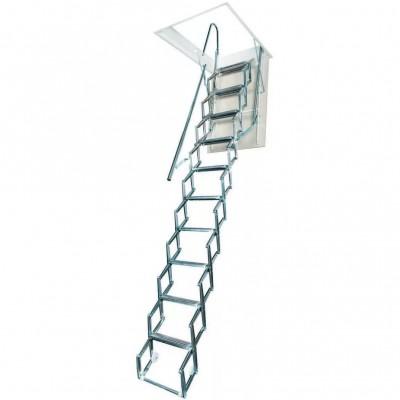 складная алюминиевая лестница на чердак Aci Alluminio