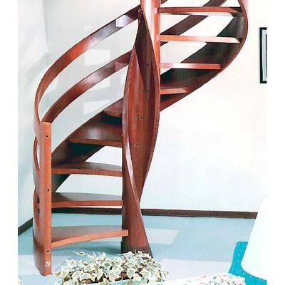 деревянная винтовая лестница emme-90