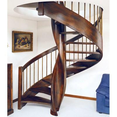винтовая лестница из дерева emme-97