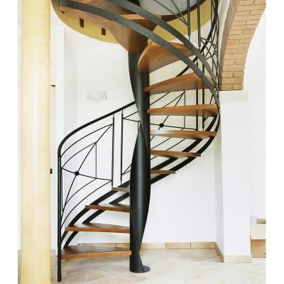 лестница с ажурным ограждением emme-96