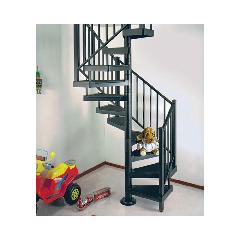 металлическая винтовая лестница emme-4