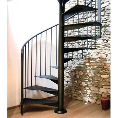 металлическая винтовая лестница emme-7
