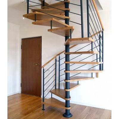 квадратно-винтовая лестница emme-84
