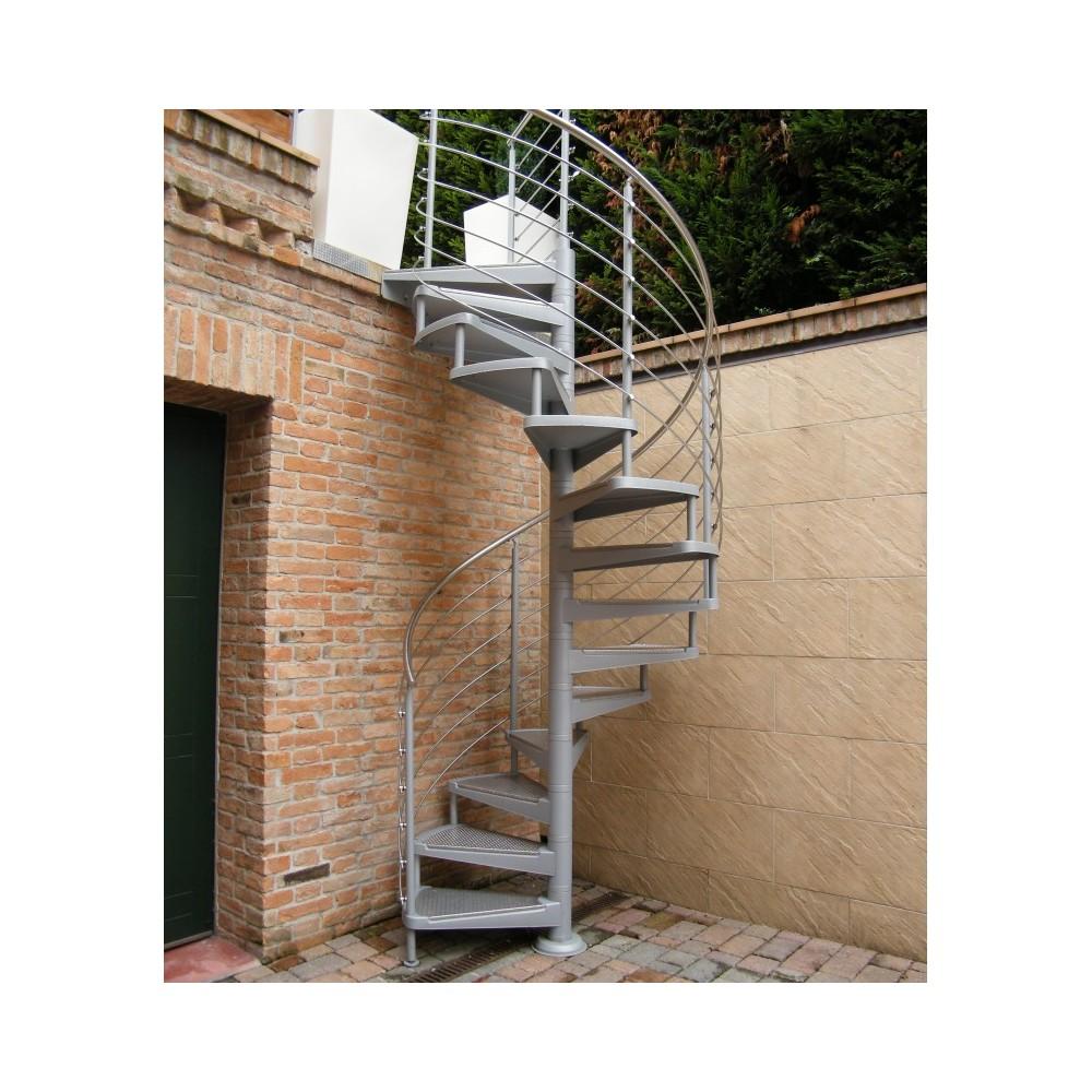 уличная лестница из нержавейки emme-0 new