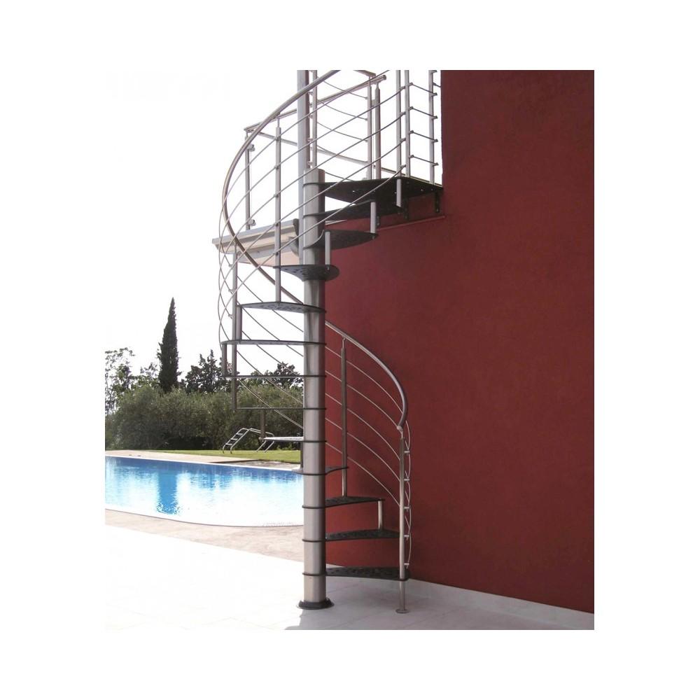 винтовая металлическая лестница emme-99 esterna