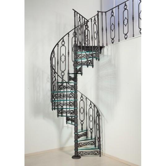 Винтовые чугунные лестницы