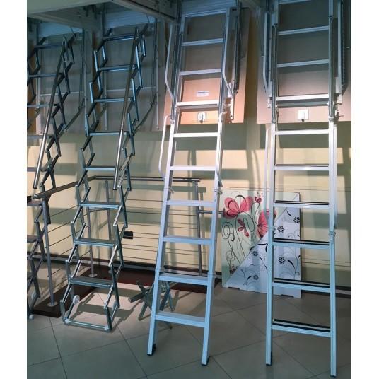 Чердачные лестницы с люком  производства фабрик  Италии и Австрии