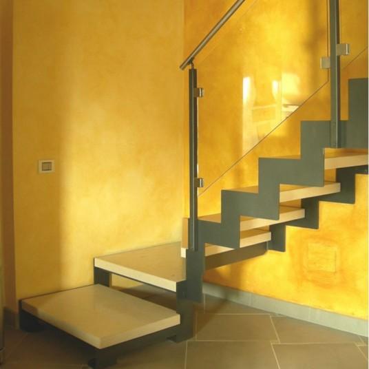 Лестницы комбинированные на второй этаж в интернет-магазине Only Stairs